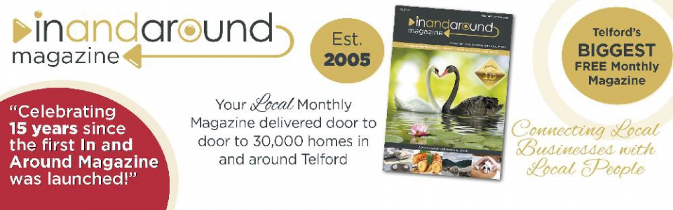 Celebrating 15 Years since 'In and Around Magazine' launched first issue.